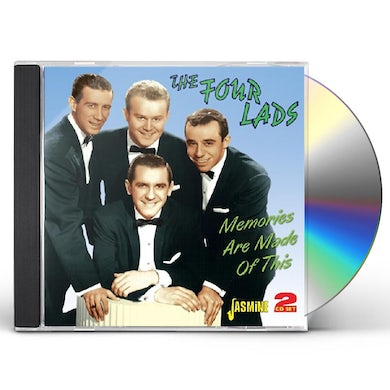 Four Lads MEMORIES ARE MADE OF THIS CD