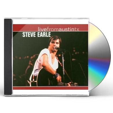 Steve Earle & The Dukes LIVE FROM AUSTIN TEXAS CD
