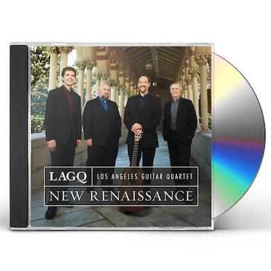 Los Angeles Guitar Quartet NEW RENAISSANCE CD