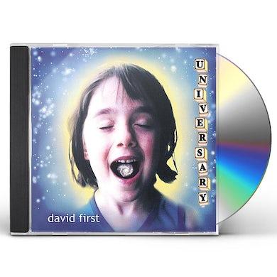 David First UNIVERSARY CD