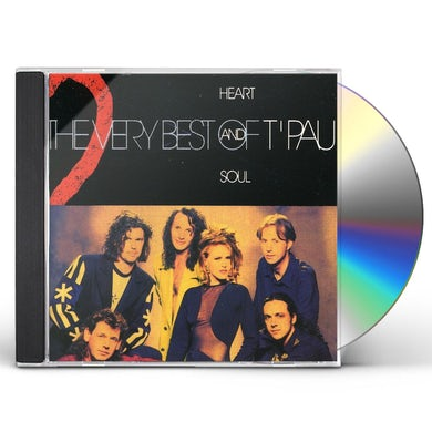 T'Pau HEART & SOUL: BEST OF CD