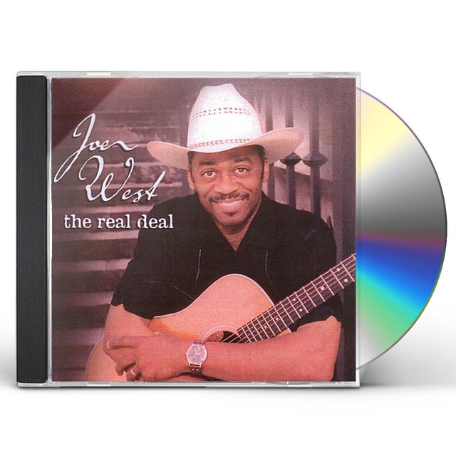 Joe West REAL DEAL CD