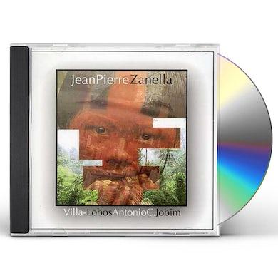 Jean-pierre Zanella VILLA-LOBOS-JOBIM CD