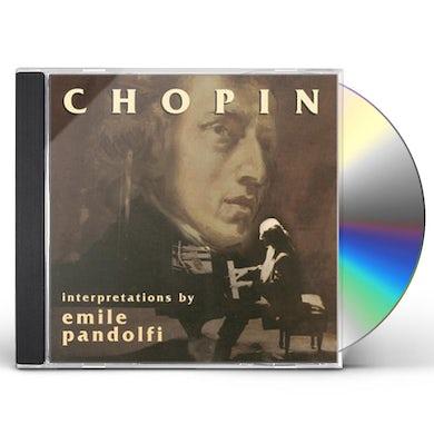 Emile Pandolfi CHOPIN CD