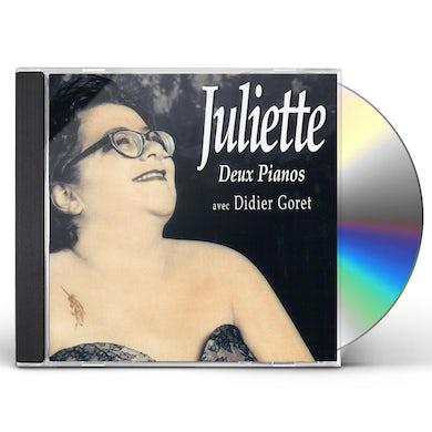 JULIETTE DEUX PIANOS CD