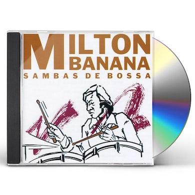 Milton Banana Trio SAMBAS DE BOSSA CD