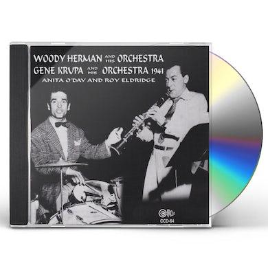 Woody Herman & His Orchestra 1941 LANG WORTH TRANSCRIPTIONS RECORDING CD