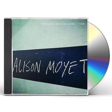 Alison Moyet MINUTES & SECONDS - LIVE CD
