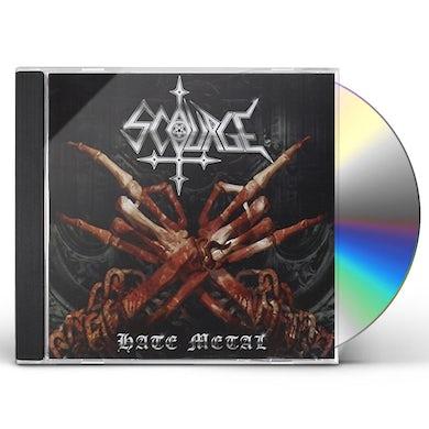 Scourge HATE METAL CD