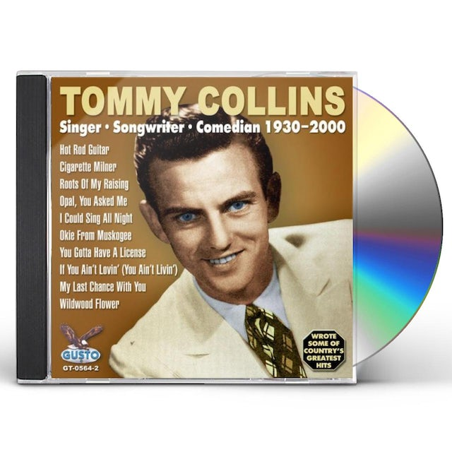 Tommy Collins SINGER-SONGWRITER CD