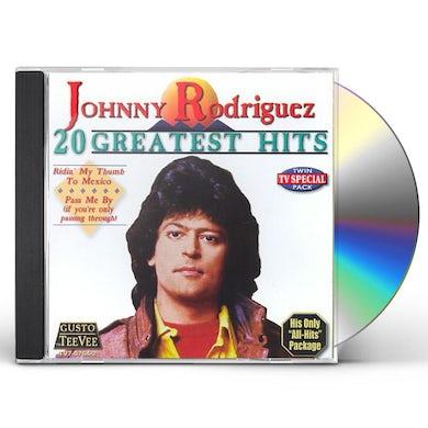 Johnny Rodriguez 20 GREATEST HITS CD