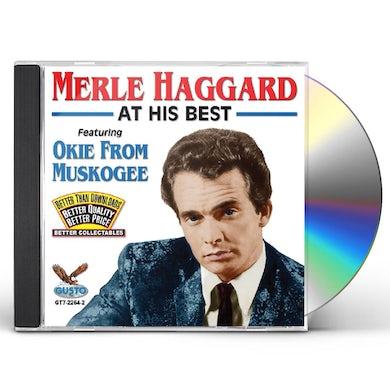 Merle Haggard AT HIS BEST CD