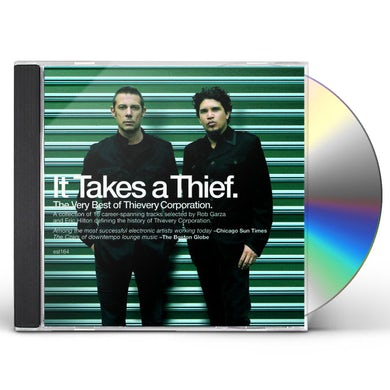 Thievery Corporation IT TAKES A THIEF CD