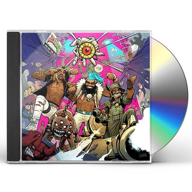 Flatbush ZOMBIES 3001: A LACED ODYSSEY CD
