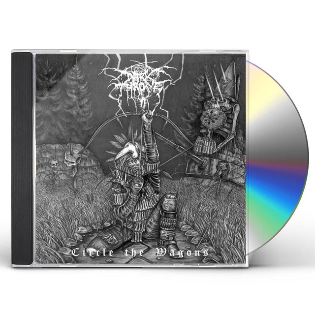 Darkthrone CIRCLE THE WAGONS CD