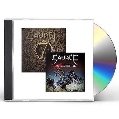 Savage LIVE N LETHAL / SEVEN CD