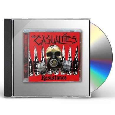 The Casualties RESISTANCE CD