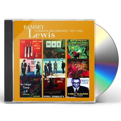 Ramsey Lewis LEWIS RAMSEY-COMPLETE RECOR CD