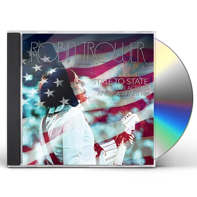 Robin Trower STATE TO STATE LIVE ACROSS AMERICA CD
