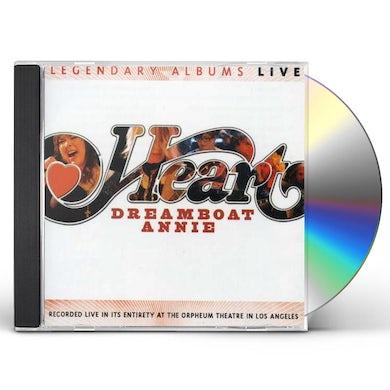 Heart DREAMBOAT ANNIE LIVE CD