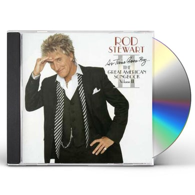 Rod Stewart AS TIME GOES BY THE GREAT AMER CD