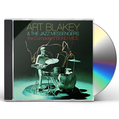 Art Blakey COMPLETE 3 BLIND MICE CD