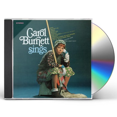 Carol Burnett SINGS CD