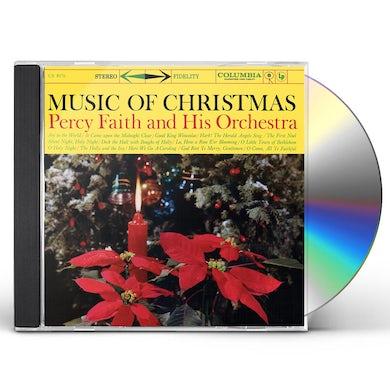 Percy Faith MUSIC OF CHRISTMAS (EXPANDED EDITION) CD