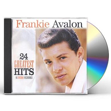 Frankie Avalon 24 GREATEST HITS CD