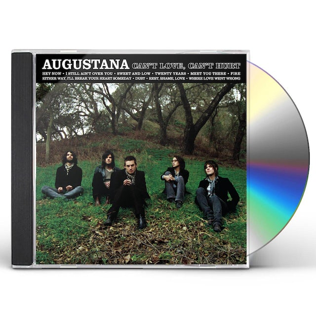 Augustana CAN'T LOVE CAN'T HURT CD