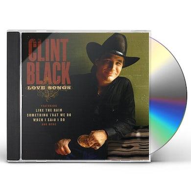 Clint Black LOVE SONGS CD