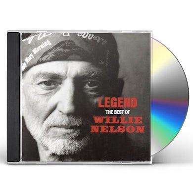 Willie Nelson LEGEND: BEST OF CD
