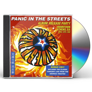 Widespread Panic PANIC IN THE STREETS CD