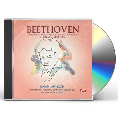 Ludwig Van Beethoven CONCERTO FOR PIANO & ORCHESTRA 2 IN B-FLAT MAJOR CD