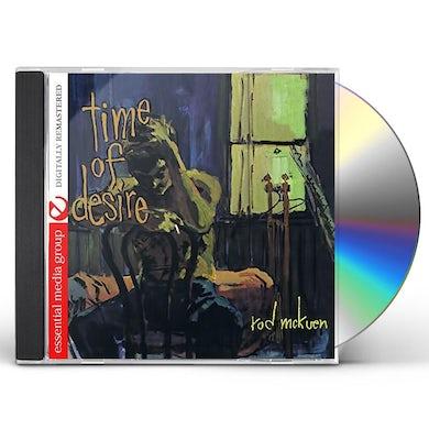 Rod McKuen TIME OF DESIRE CD