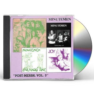 Minutemen POST MERSH 3 CD