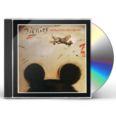 The Dickies STUKAS OVER DISNEYLAND CD