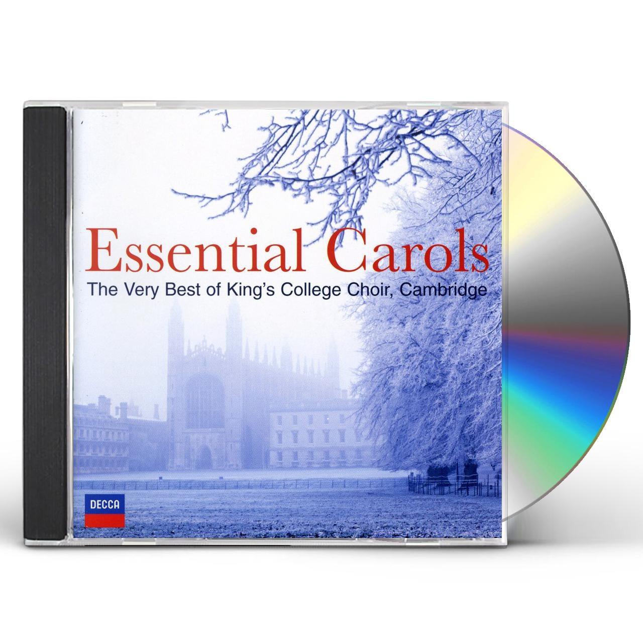 Choir Of King's College Cambridge ESSENTIAL CAROLS CD