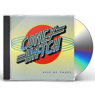 Coney Hatch BEST OF THREE CD