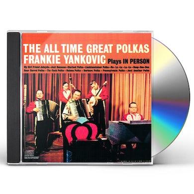 Frank Yankovic ALL TIME GREAT POLKAS CD