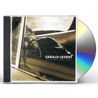 Gerald Levert DO I SPEAK FOR THE WORLD CD
