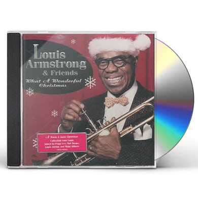 Louis Armstrong WHAT A WONDERFUL CHRISTMAS CD