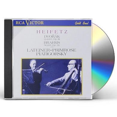 Jascha Heifetz QUINTET OP 81 CD