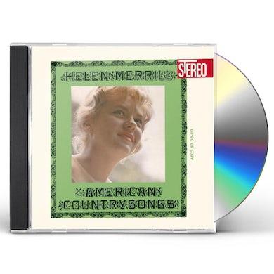 Helen Merrill AMERICAN COUNTRY SONGS CD