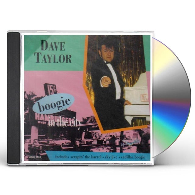 Dave Taylor BOOGIE IN THE CITY CD