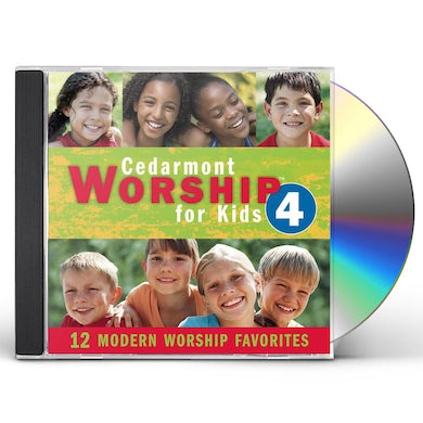 Cedarmont Kids WORSHIP FOR KIDS 4 CD