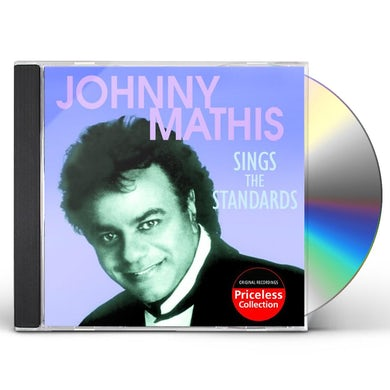 Johnny Mathis SINGS THE STANDARDS CD