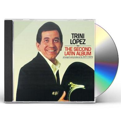 Trini Lopez SECOND LATIN ALBUM CD