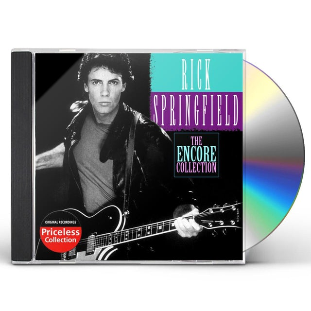 Rick Springfield ENCORE COLLECTION CD