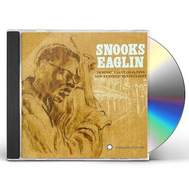 Snooks Eaglin NEW ORLEANS STREET SINGER CD